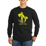 Mama's Boy Long Sleeve Dark T-Shirt