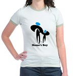 Mama's Boy Jr. Ringer T-Shirt