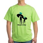 Mama's Boy Green T-Shirt