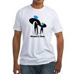 Mama's Boy Fitted T-Shirt
