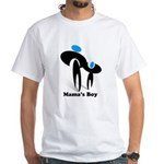 Mama's Boy White T-Shirt