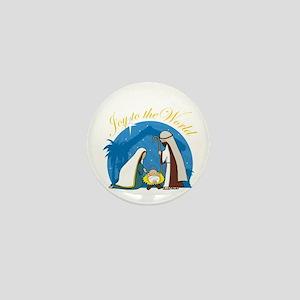 Nativity Scene Mini Button