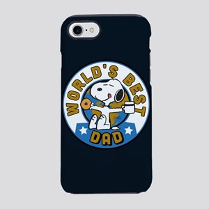 Peanuts Greatest Dad iPhone 7 Tough Case