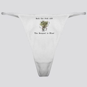 Bouquet is Mine Classic Thong