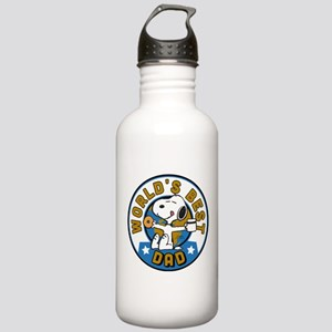 Peanuts Greatest Dad Stainless Water Bottle 1.0L