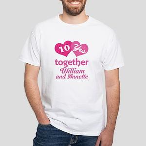 Personalized Anniversary Gift T-Shirt