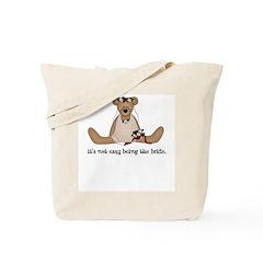Sympathy for the Bride Tote Bag
