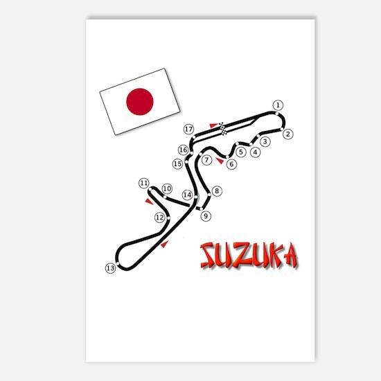 Suzuka Postcards (Package of 8)