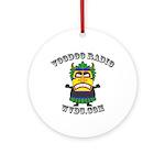 WVDU Color Logo Round Ornament