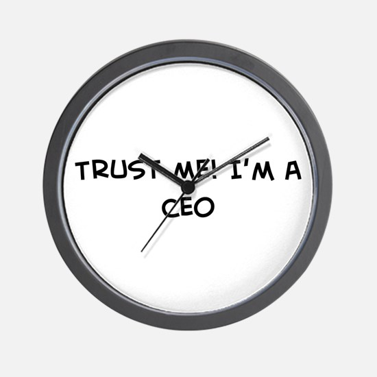 Trust Me: CEO Wall Clock