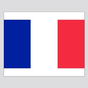 French Flag Small Poster