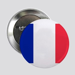 """French Flag 2.25"""" Button"""