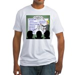 Drug Naming Session Fitted T-Shirt
