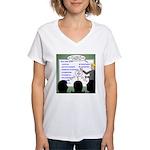 Drug Naming Session Women's V-Neck T-Shirt