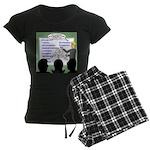 Drug Naming Session Women's Dark Pajamas