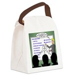 Drug Naming Session Canvas Lunch Bag