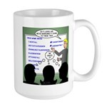 Drug Naming Session 15 oz Ceramic Large Mug