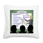 Drug Naming Session Square Canvas Pillow