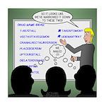 Drug Naming Session Tile Coaster