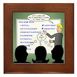 Drug Naming Session Framed Tile