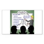 Drug Naming Session Sticker (Rectangle)