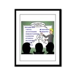 Drug Naming Session Framed Panel Print