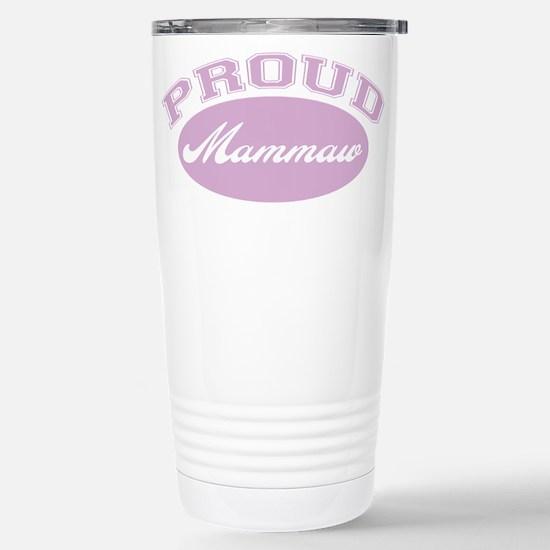 Proud Mammaw Stainless Steel Travel Mug