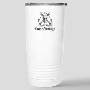 Cross Anchors Stainless Steel Travel Mug