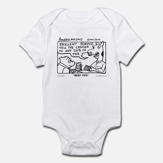 Beef Tips Infant Bodysuit