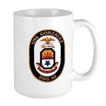 USS Gonzalez DDG 66 US Navy Ship Large Mug