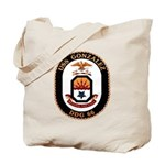 USS Gonzalez DDG 66 US Navy Ship Tote Bag