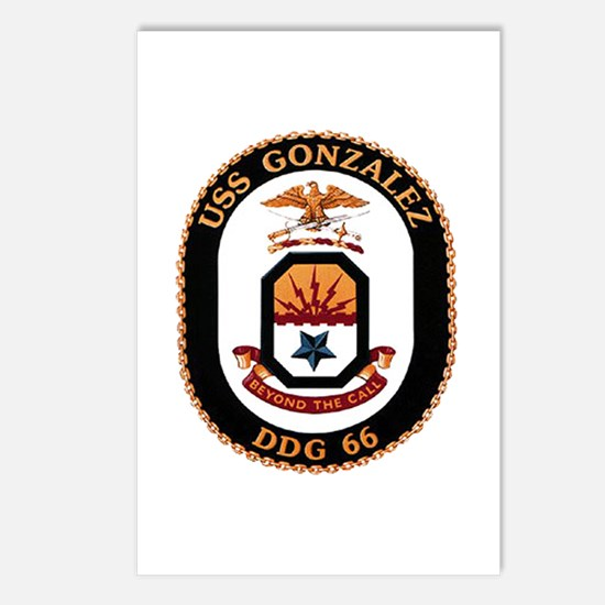USS Gonzalez DDG 66 US Navy Ship Postcards (Packag