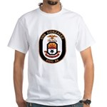 USS Gonzalez DDG 66 US Navy Ship White T-Shirt