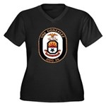 USS Gonzalez DDG 66 US Navy Ship Women's Plus Size
