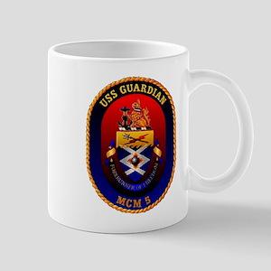 USS Guardian MCM 5 US Navy Ship Mug