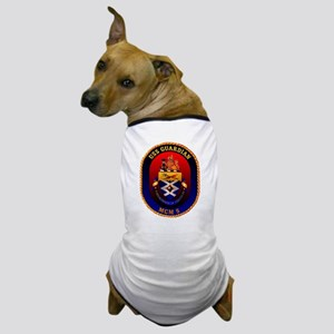 USS Guardian MCM 5 US Navy Ship Dog T-Shirt