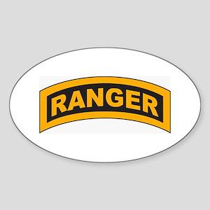 Ranger Tab Oval Sticker