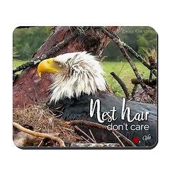 Nest Hair, Don't Care Mousepad