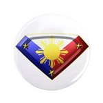 """Super Pinoy 3.5"""" Button (100 pack)"""