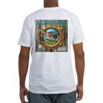 Tails From The Harbor Fitted T-Shirt