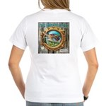 Tails From The Harbor Women's V-Neck T-Shirt