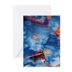 Koi Fish Greeting Cards (Pk of 10)