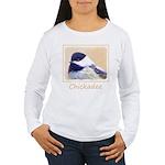 Chickadee Women's Long Sleeve T-Shirt