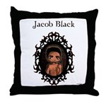 New Moon Quileutes Jacob Throw Pillow
