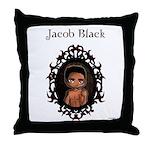 New Moon Quileutes Jacob Throw Pillow