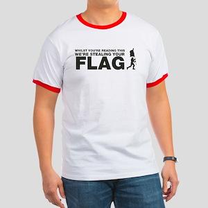 Capture The Flag Ringer T