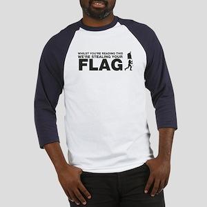 Capture The Flag Baseball Jersey
