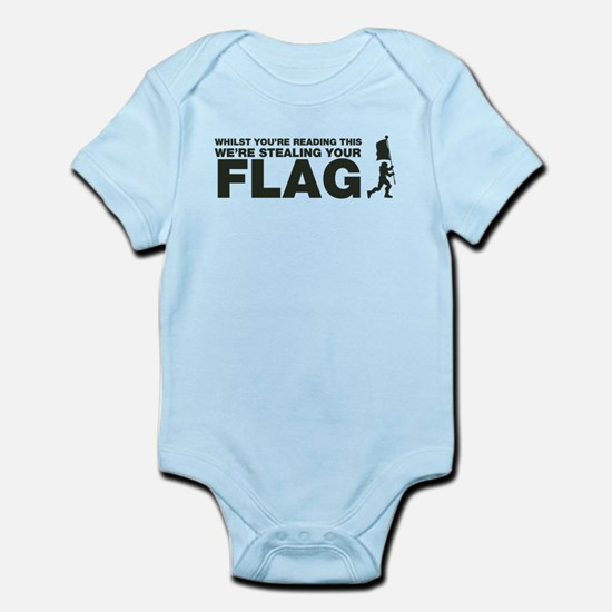 Capture The Flag Infant Bodysuit