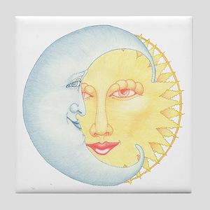 Night & Day Tile Coaster