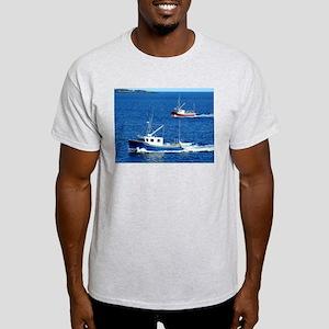 Two fishing boats Light T-Shirt